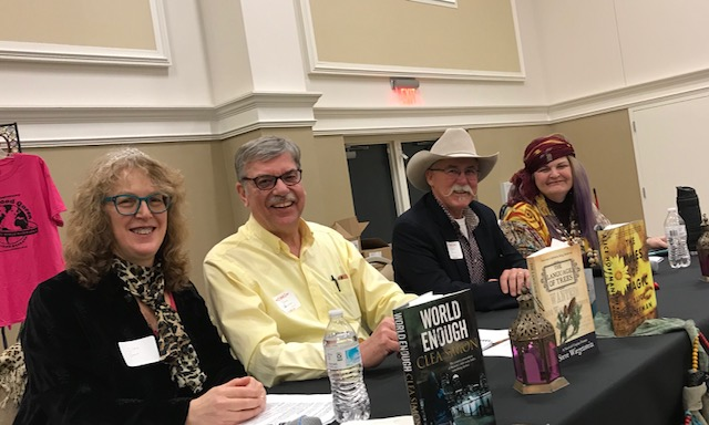 My author panel on Friday afternoon.